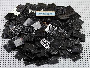Lego Job Lot 25  Minifigure Orange Base Plate Display Stand 3x4 Series Halloween