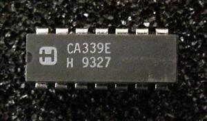 Harris-CA339E-QTY-25-Quadruple-Voltage-Comparator