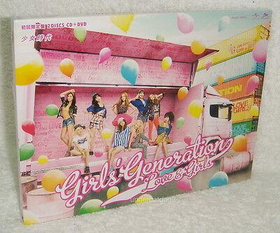 Girls' Generation Love & Girls 2013 Taiwan Ltd CD+DVD (digipak)