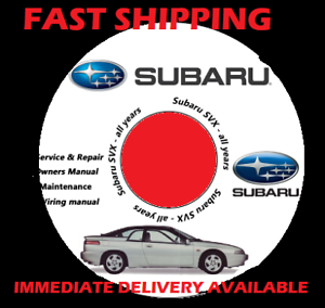 For 1992-1997 Subaru SVX Front Rear Black Drilled Brake Rotors+Ceramic Pads