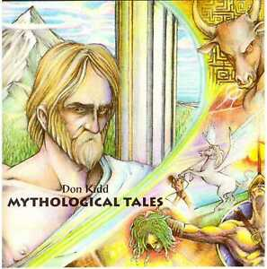 DON KIDD Mythological Tales CD U.S. Electronic w/ Prog Influences