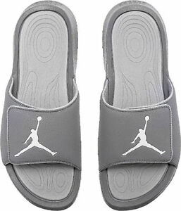 d6d45211eebf NEW 881473 004 Men s Jordan Hydro 6 Sandals !!! COOL GREY WHITE-WOLF ...