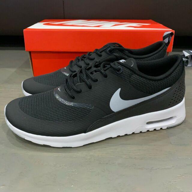 Shop Nike Air Max Thea Womens BlackAnthraciteWhiteWolf
