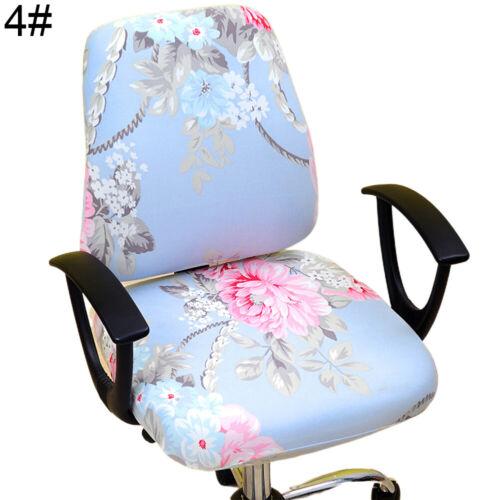 Am /_ Heimbüro Stretch Drehbar Computer Stuhlbezug Rückenlehne Husse Protecto