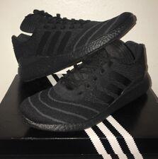 sports shoes 87762 8ecf6 Adidas Busenitz Pure Boost PK sz. 9.5 Triple Black Primeknit