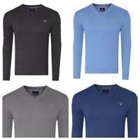 GANT Herren Pullover 83102 V-Neck Feinstrick Sweater V-Ausschnitt Gr. S-XXL NEU