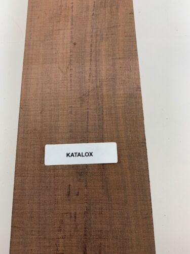 """3//4/"""" x 3/"""" x 24/""""  Mexican Royal Ebony//Katalox Thin Stock Lumber Boards Wood"""