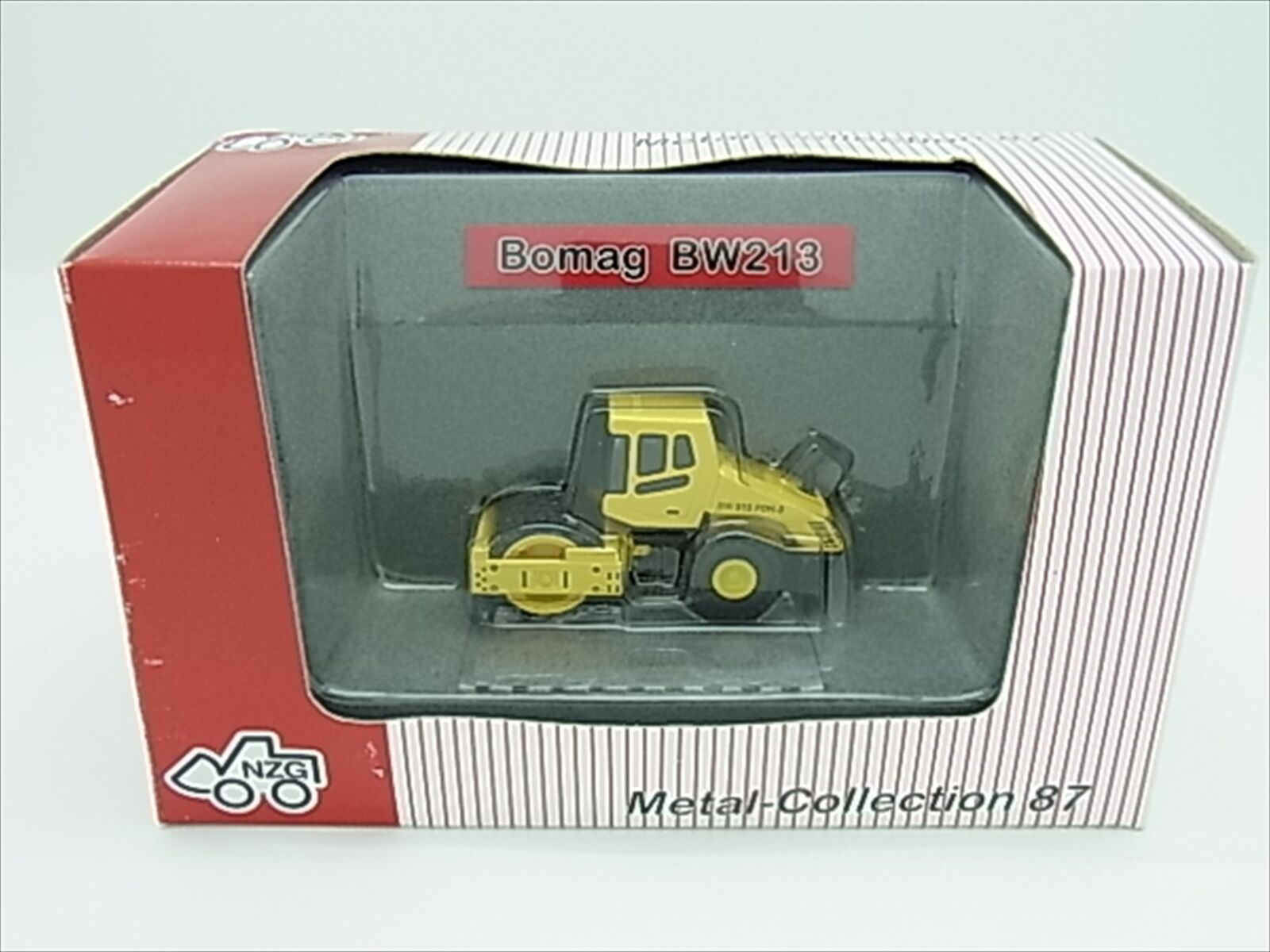 F S 1 87  BOMAG BW213 Diecast Model miniature (Compactor) NEW