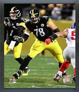 "Alejandro Villanueva Pittsburgh Steelers Action Photo (Size: 12"" x 15"") Framed"
