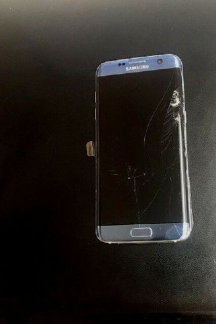 Samsung Galaxy S7 Edge Sm G935 32gb Blue Coral At T Smartphone For Sale Online Ebay