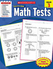 Math Tests, Grade 3 by Scholastic US(Paperback / softback)