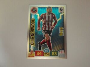 "Panini ADRENALYN XL 19//20 /""Ollie Norwood/"" #386 héroe Trading Card"