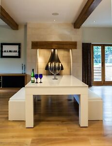 Gloss White Milano Seater Dining Pool Table Make The Most Out - Milano pool table