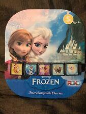 Elsa DISNEY FROZEN INTERCHANGEABLE CHARMS BAND BRACELET Anna Sven Olaf