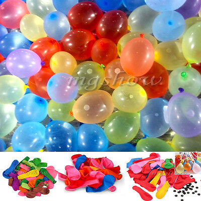 111x Water Balloons Bomb Self Tying Garden Outdoor Birthday Party BBQ Summer Fun