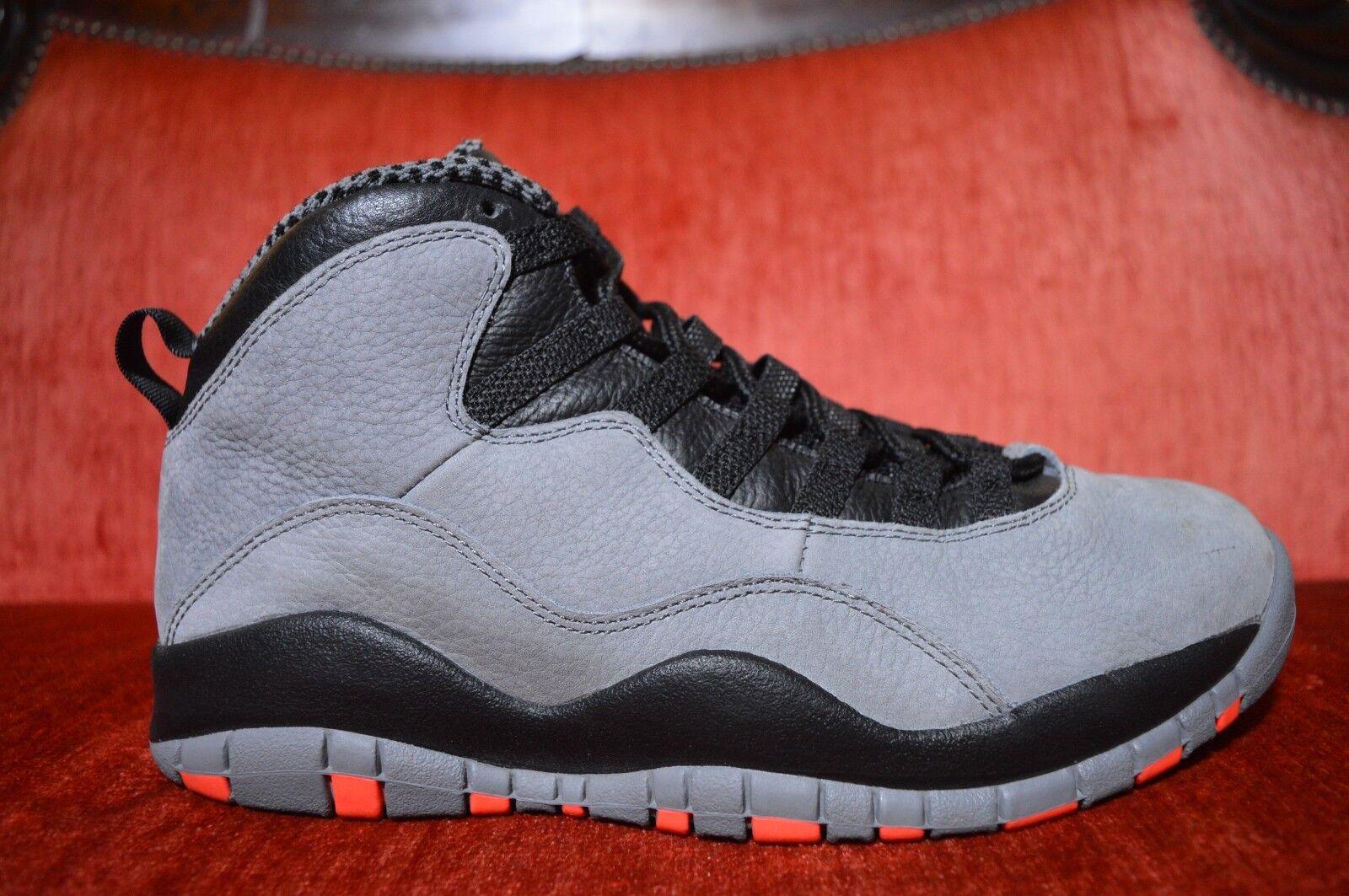 Nike Air Jordan 10 X Retro Cool Grey Infrared Comfortable Seasonal price cuts, discount benefits
