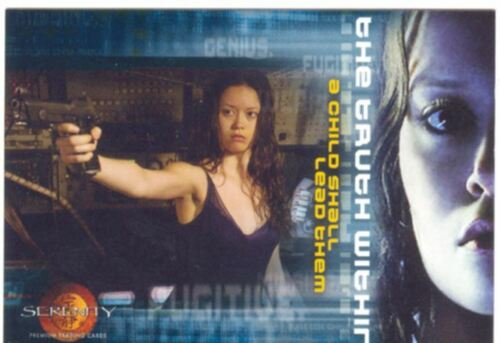Serenity The Movie The Truth Within Boxtopper Chase Card BL2