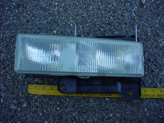Gm 97 Chevrolet Tahoe Left Headlight Assembly Chevy Gmc Pickup Truck