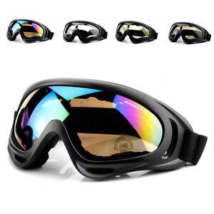 967ad7929c5 La imagen se está cargando Hombre-Gafas-Nieve -Esqui-Snowboard-Anti-Viento-Niebla-