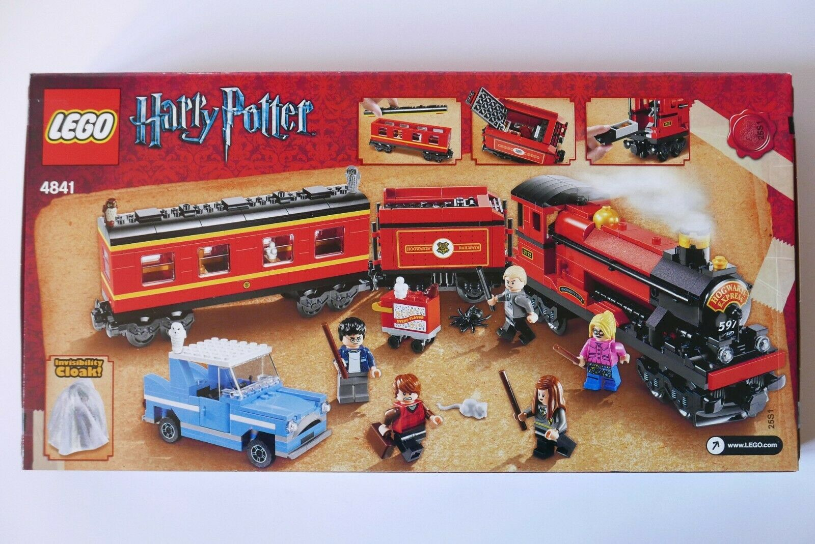 LEGO Harry Potter 4841 Hogwarts Express (3rd edition) NEW Sealed Sealed Sealed RARE MINT 70eaff