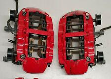 2017 2020 Audi Rs3 8v Oem Front 8 Piston Red Brembo Brake Caliper Pad Set 9k Mi