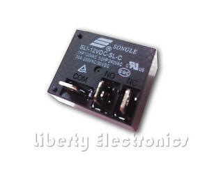 2PCS ORIGINAL SLI-12VDC-SL-C 12V SONGLE POWER Relay 5PINS