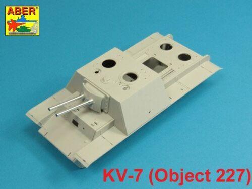 Fit To TRUMPETER MODEL 1//35 ABER 35L-210  BARRELS SET for SOVIET KV-7