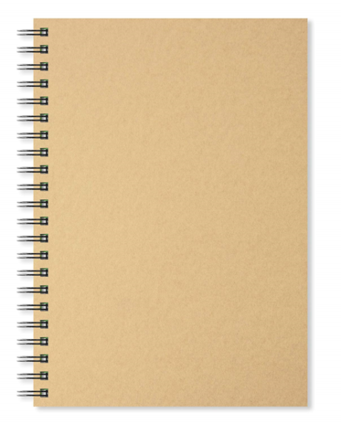 Artgecko Classy Sketchbook A4 Portrait 40 Sheets Acid Free White Cartridge Paper