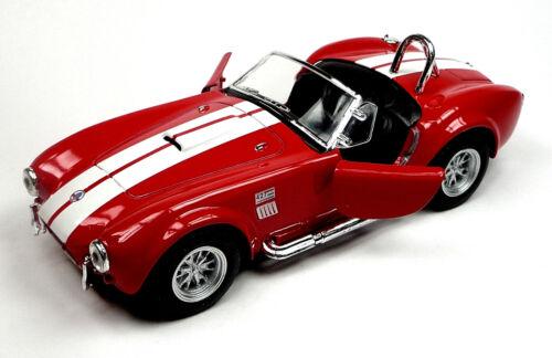 NEU 1965 Ford Shelby Cobra 427 S//C Sammlermodell 1:32 rot Neuware v KINSMART