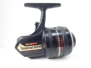 Vintage-Abu-Garcia-Diplomat-601M-Closed-Face-Fishing-Reel-In-Nr-Mint-Condition