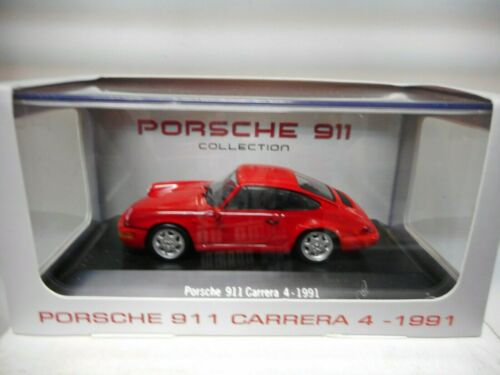 PORSCHE 911 CARRERA 4 1991 PORSCHE COLLECTION NOREV ATLAS IXO 1:43