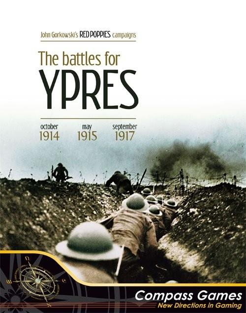 ROUGE Coquelicots  Les batailles pour Ypres, nouveau