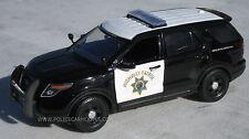 Motormax 1/24 CHP California Highway Patrol B&W Ford PI Utility Police SUV