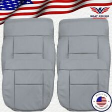 2004 2005 2006 2007 2008 Ford F150 Lariat Synthetic Leather Seat Cover In Gray Fits Ford F 150