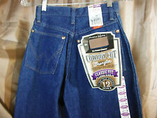 NWT Womens Wrangler Jeans Long Rise Cowgirl Boot Cut Size 1/2 X 34 Measure 24x34