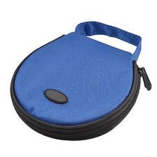 Home Car Zip up DVD CD Discs Holder Pocket Blue Storage Bag AD