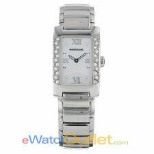 Montblanc Profile Elegance Ladies Diamond Bezel Mother of Pearl Watch 36127