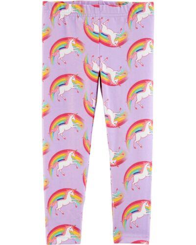 NWT Carter/'s Purple Unicorn Leggings Girls Toddler Size 3T,4T,5T