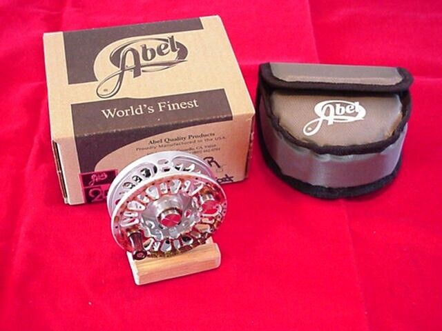 Abel Fly Reel Super 5N NEW 2013 Rainbow Trout Reel NEW GREAT