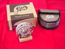 Abel Fly Reel Super 4N NEW 2013 Rainbow Trout Reel NEW GREAT