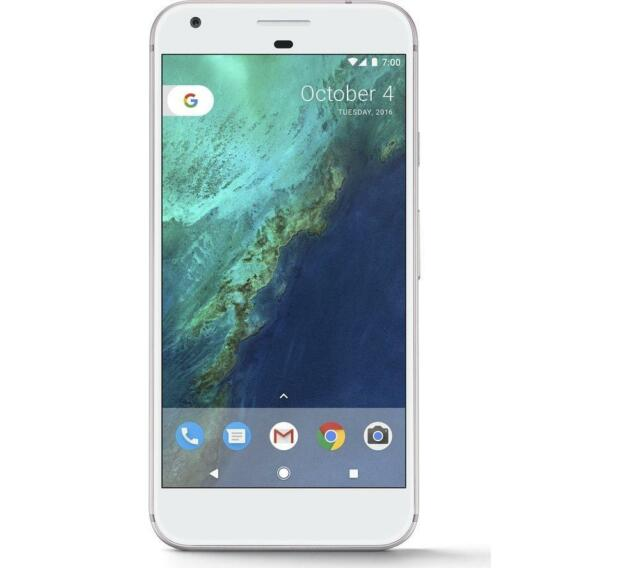 Google Pixel (2PW4100) 32GB Silver (Unlocked) *GREAT Condition*