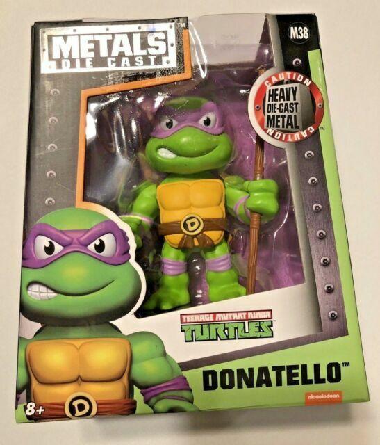 Teenage Mutant Ninja Turtles NEW Jada Toys 4 Inch Metals Die Cast Donatello