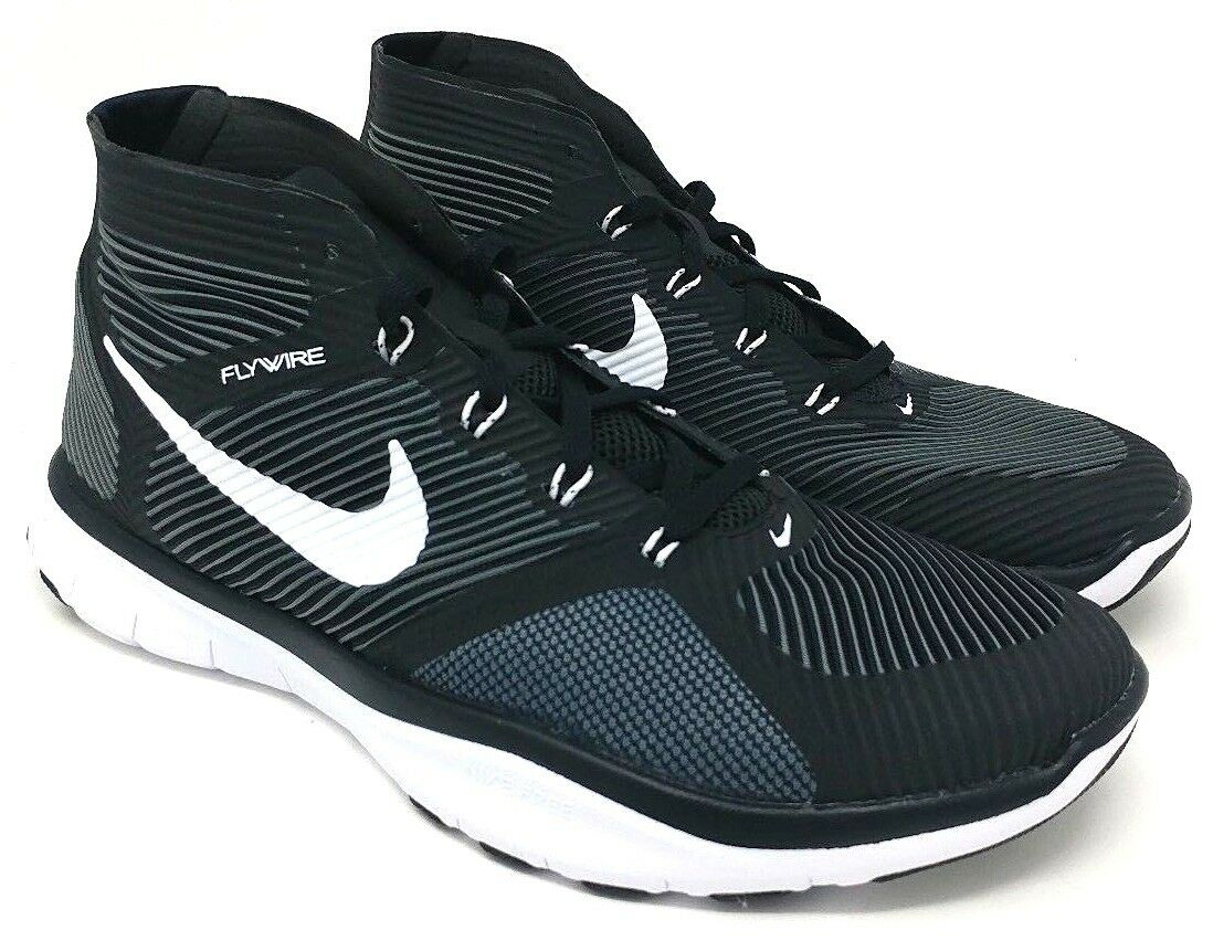 Nike Free Train Instinct SIZE 8.5 Nero/White-Dark Grey