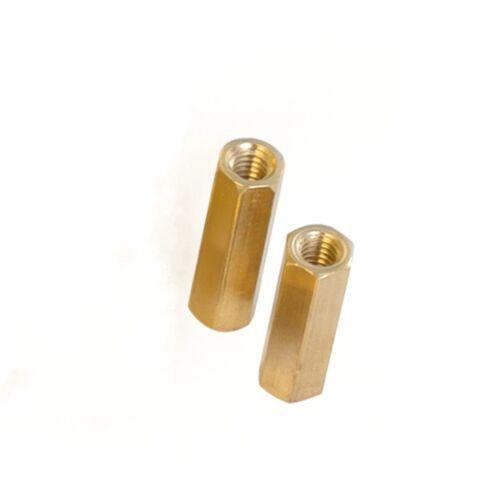 M3*20mm Hex Hexagonal Pillar Standoff Spacer Pillars PCB Brass Female//Female