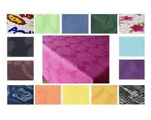 alkor tischdecke abwaschbare baumwolle meterware farben und l nge w hlbar neu ebay. Black Bedroom Furniture Sets. Home Design Ideas