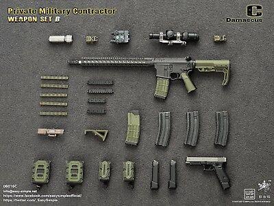 A25-19 1//6 scale Easy/&Simple ES 06016-C  PMC weapon set Assault rifle