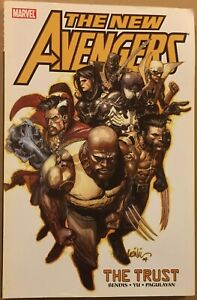 The New Avengers - Vol. 7 The Trust - FN/VF - tpb - Bendis - Yu - Marvel