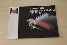 169491) Kawasaki GPZ 305 LTD 450 GPZ 500 S KMX 125 KLR 250 650 Prospekt 198?