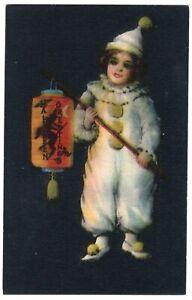 HALLOWEEN-POSTCARD-ELLEN-CLAPSADDLE-CHINESE-LANTERN-SERIES-1901-WOLF-amp-Co
