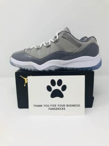 Nike Air Jordan 11 Retro Low /'Cool Grey/' B-Grade 505835-003 PS Size 12C-3Y